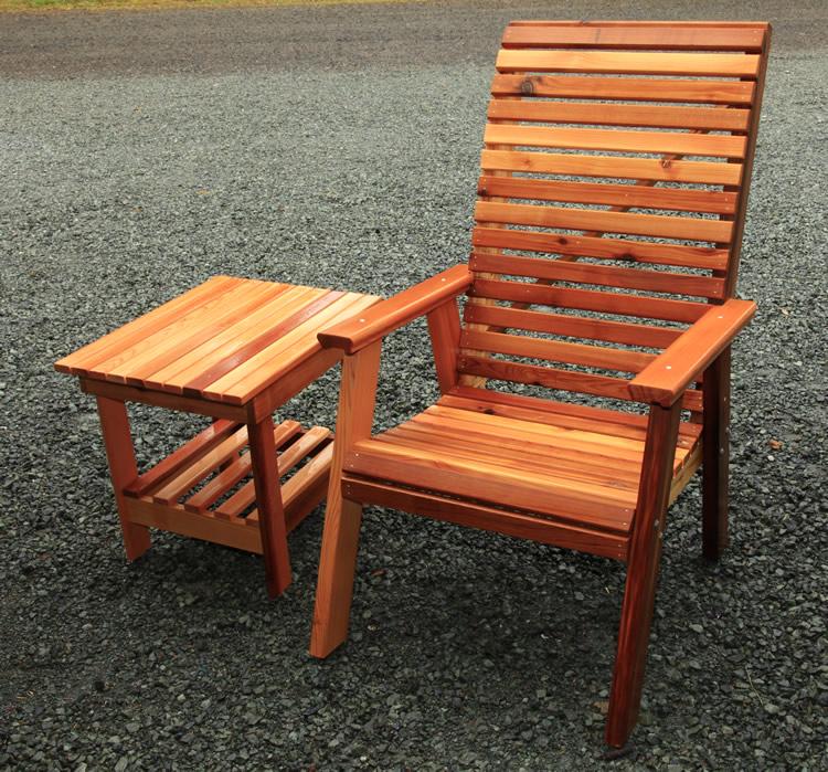 Superior High Back Deck Chair