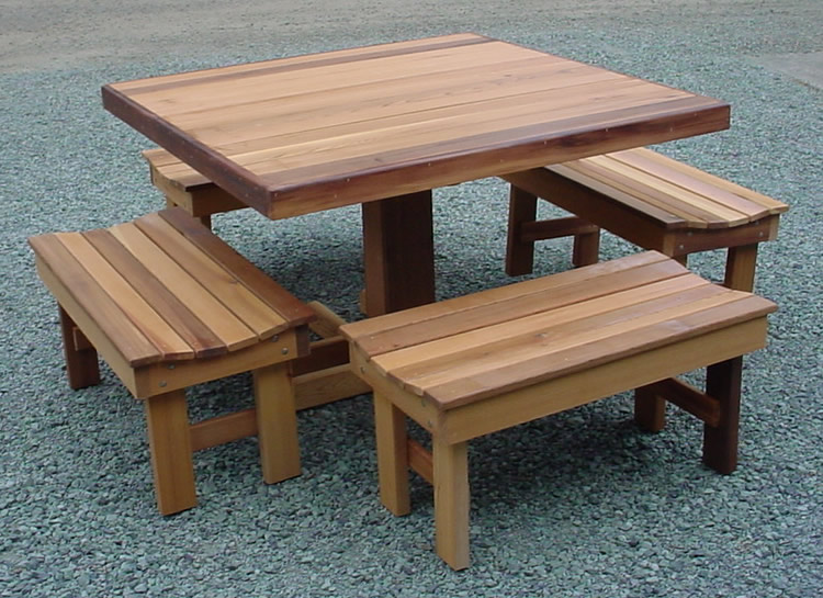 How To Build A Picnic Table With Separate Benches Part   19: Picnic Table